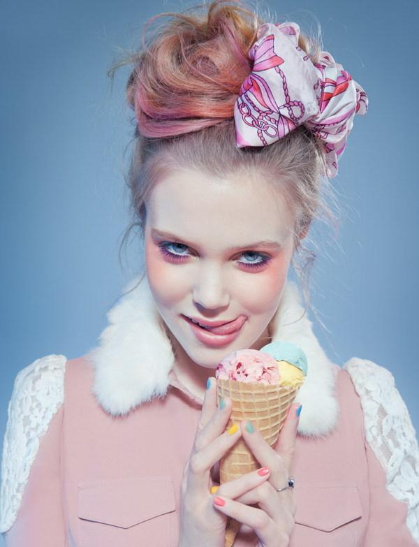 """Sweet Pastel"" by Joanna Kustra."